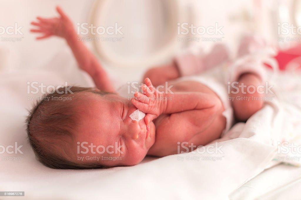 050fc2a0a Chica Bebé Recién Nacido Prematuro Foto de stock y más banco de ...