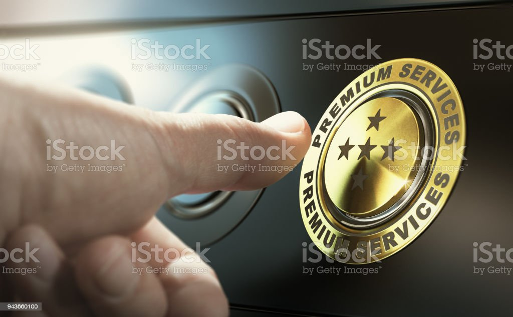 Premium Technical Support Services stock photo