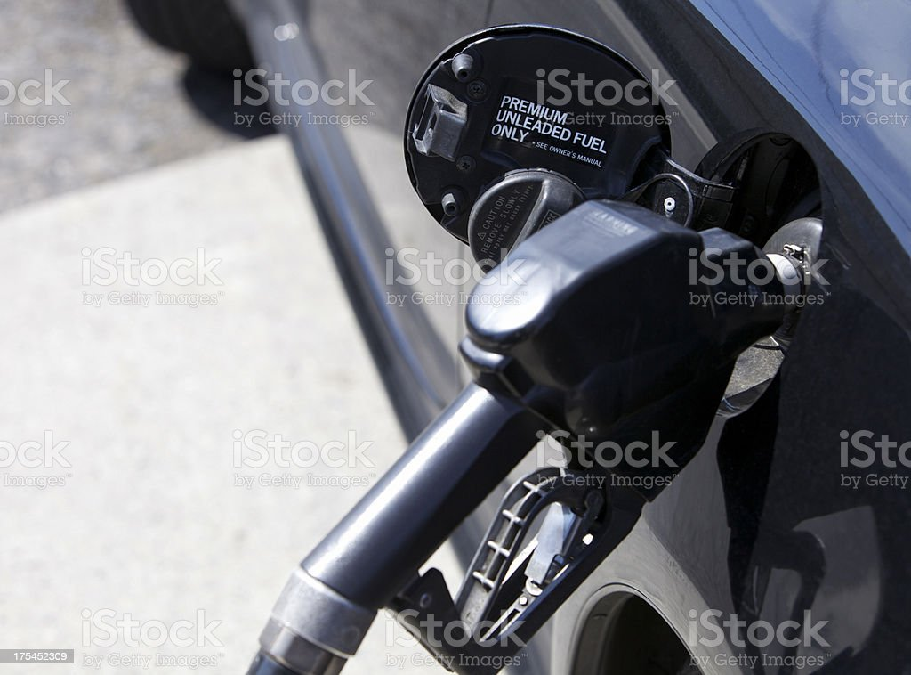 Premium Unleaded Fuel stock photo