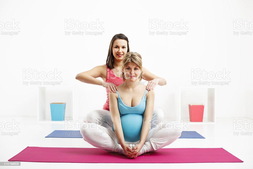 Prenatal care royalty-free stock photo