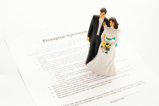 istock prenuptial agreement 137053801