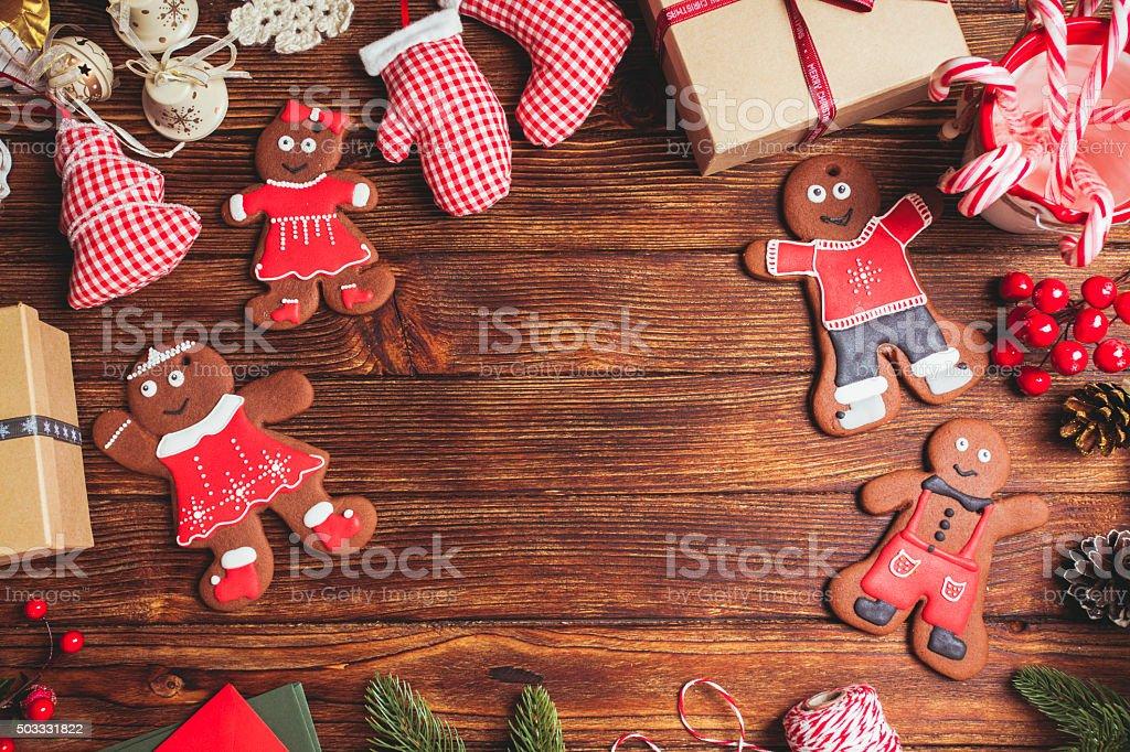 Preparation for Christmas stock photo