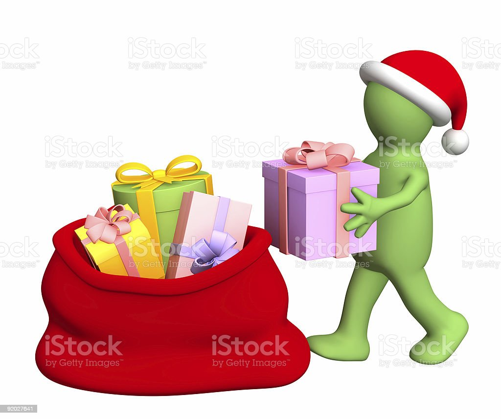 Preparation for Christmas royalty-free stock photo