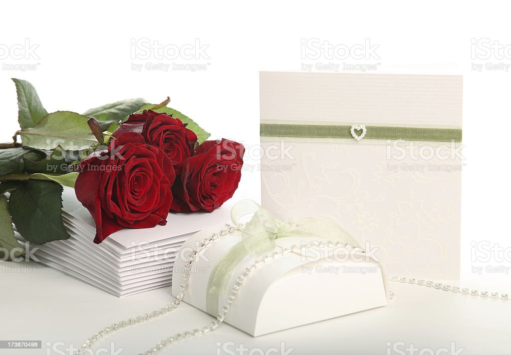 Preparations for Wedding royalty-free stock photo