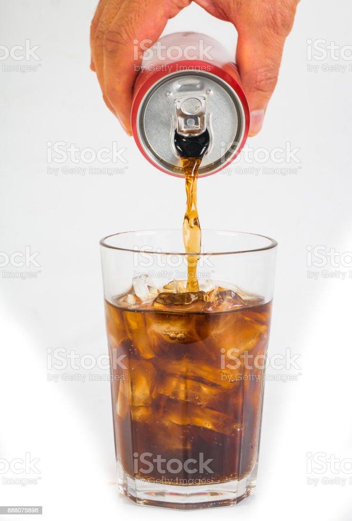 Bereiten Sie eine kalte Cola abkühlen lassen – Foto