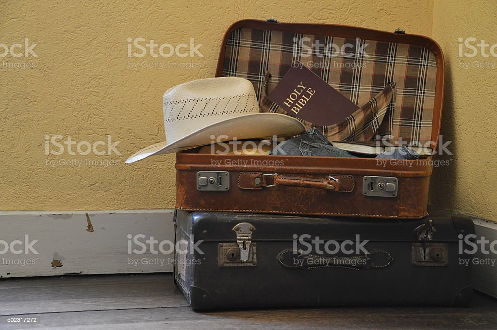 prepare for a journey stock photo