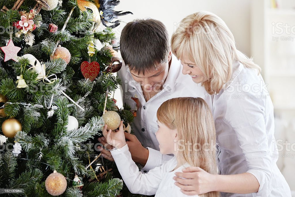 Prepare for Christmas royalty-free stock photo