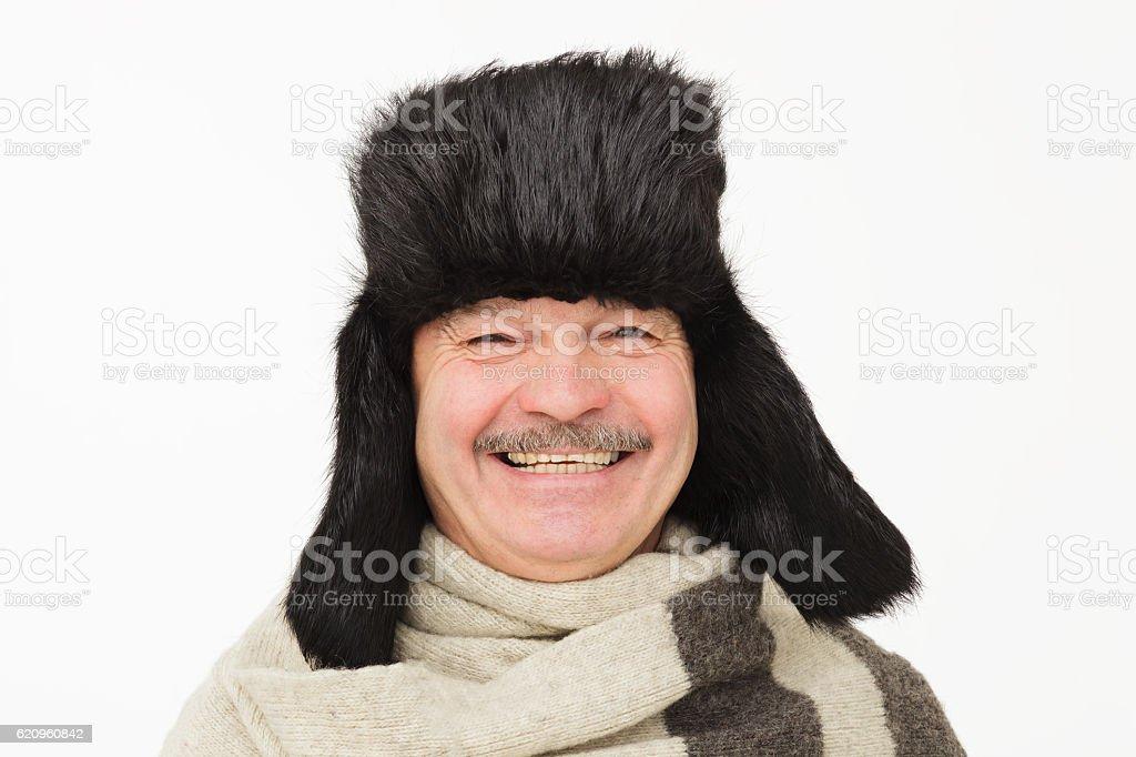 Prepare for cold Russian winter. stock photo