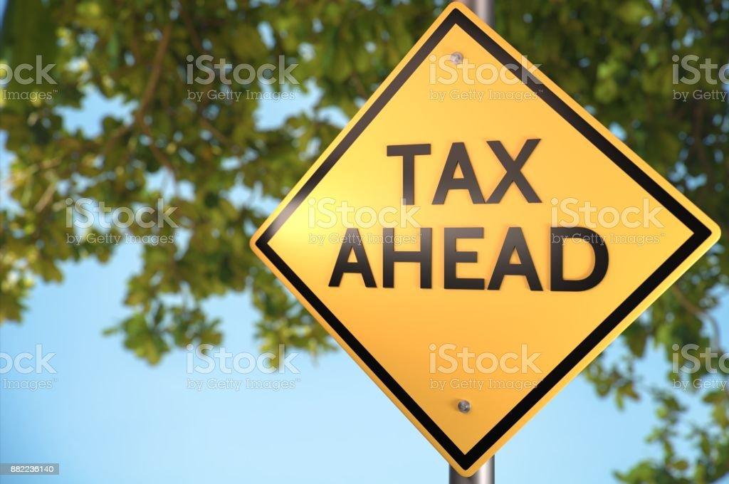 Bereite dich auf die eingehenden Steuer! – Foto