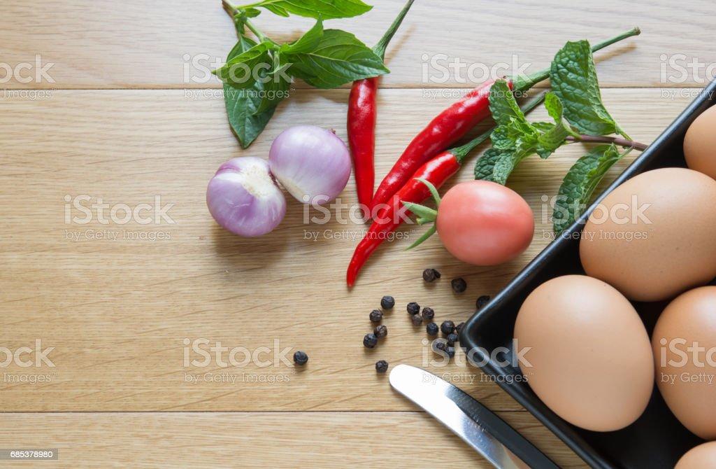 Prepare omelette foto de stock royalty-free