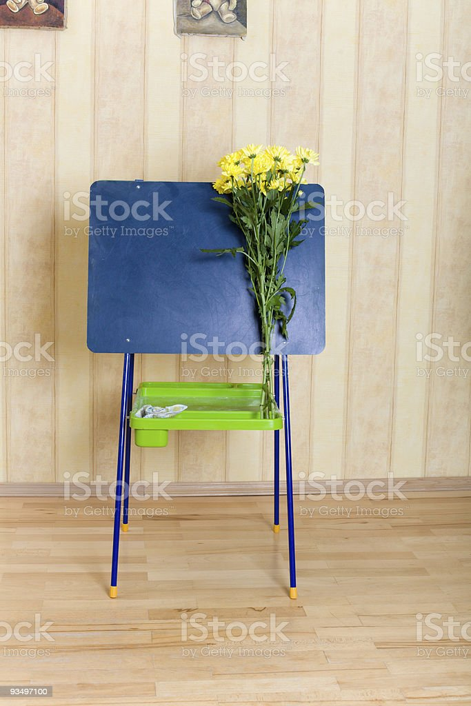 Prepare to back in school royalty-free stock photo