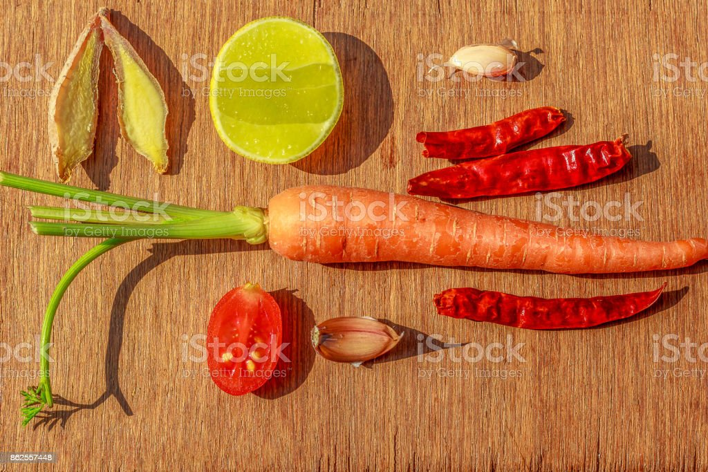 Prepare to cook for food. stock photo