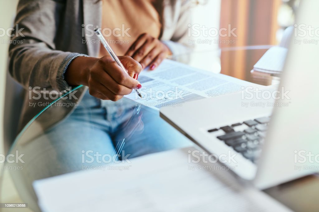 Prepare today for a secure tomorrow stock photo