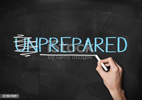 istock Prepared and Unprepared (Click for more) 523628951