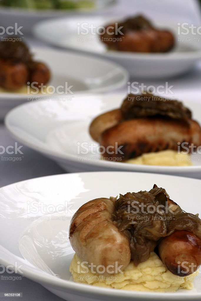 Prepared food royalty-free stock photo
