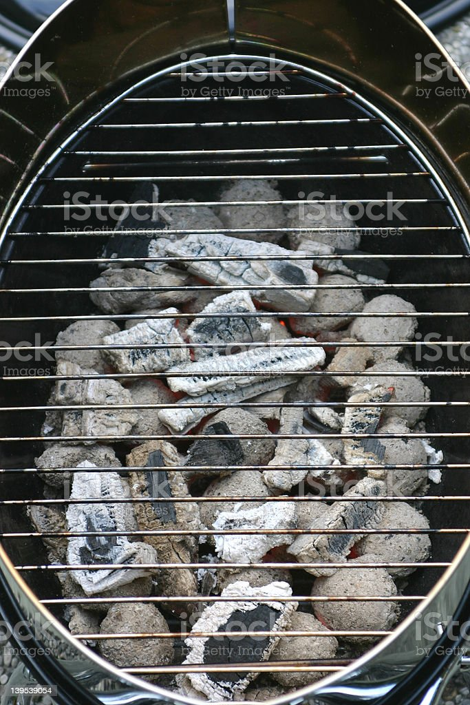 Prepared for grilling royalty-free stock photo