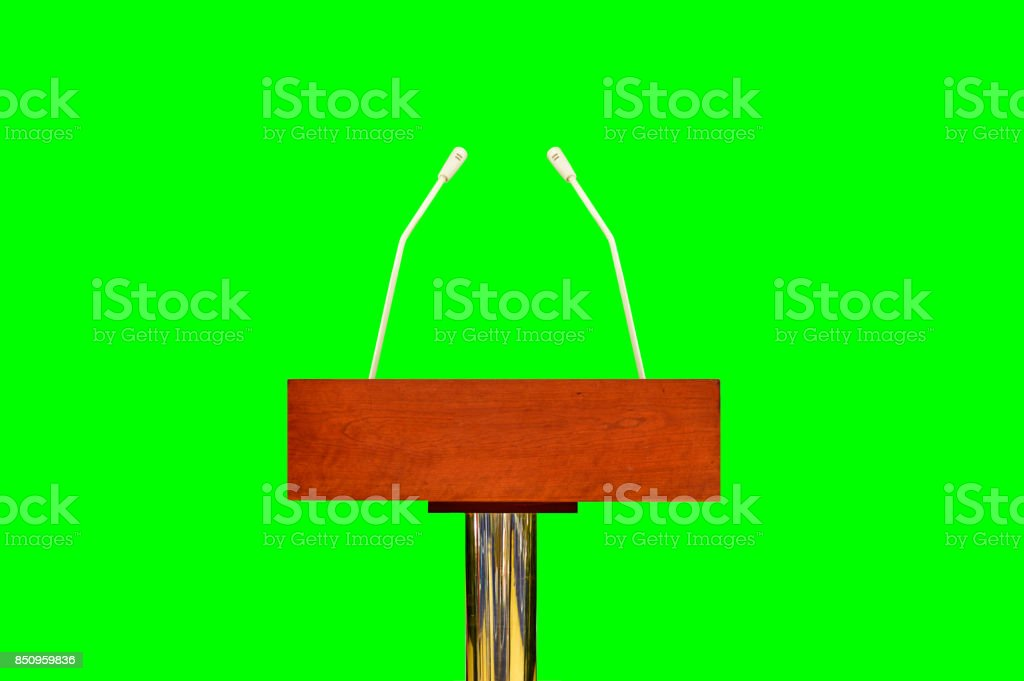 Prepared for the conference stock photo