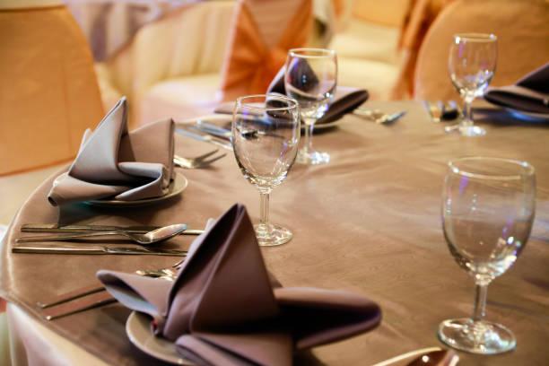 jantar de gala preparado - eventos de gala - fotografias e filmes do acervo