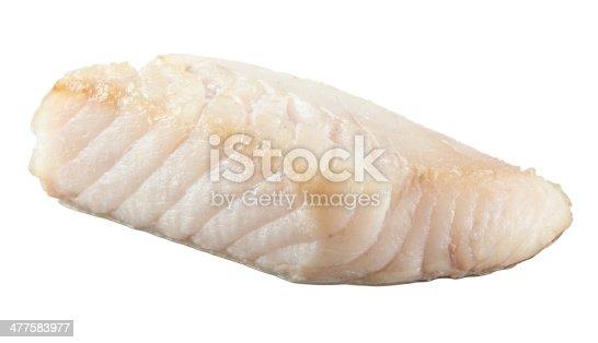istock Prepared pangasius fish fillet pieces 477583977