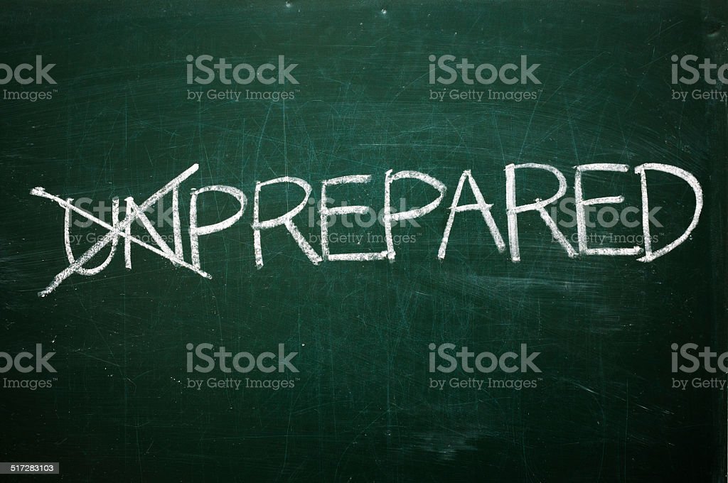Prepared stock photo