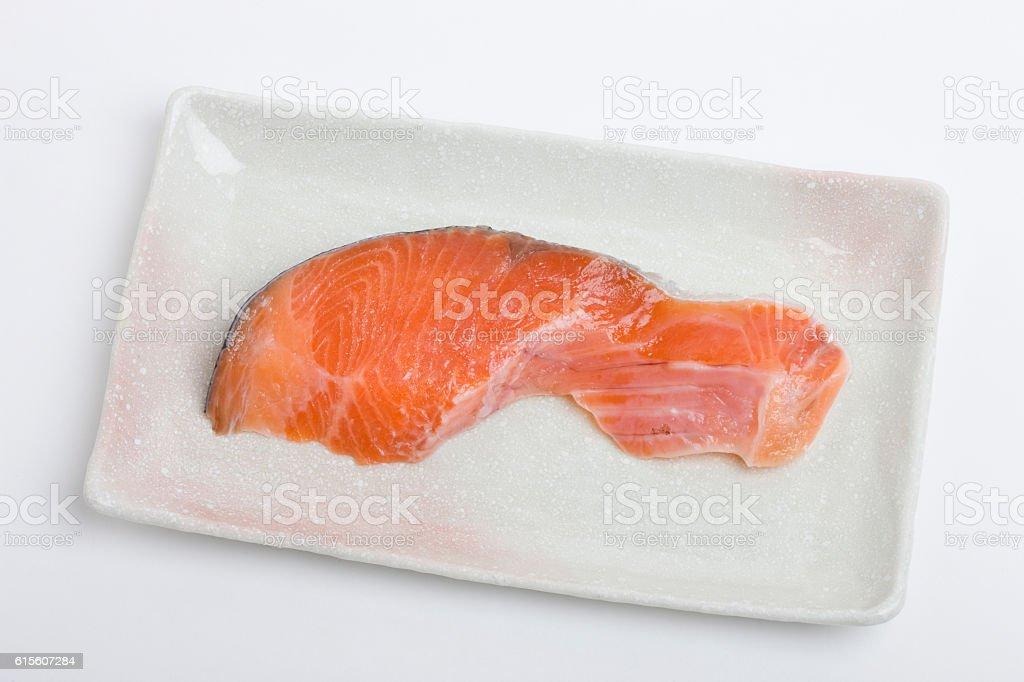 Prepared trout stock photo