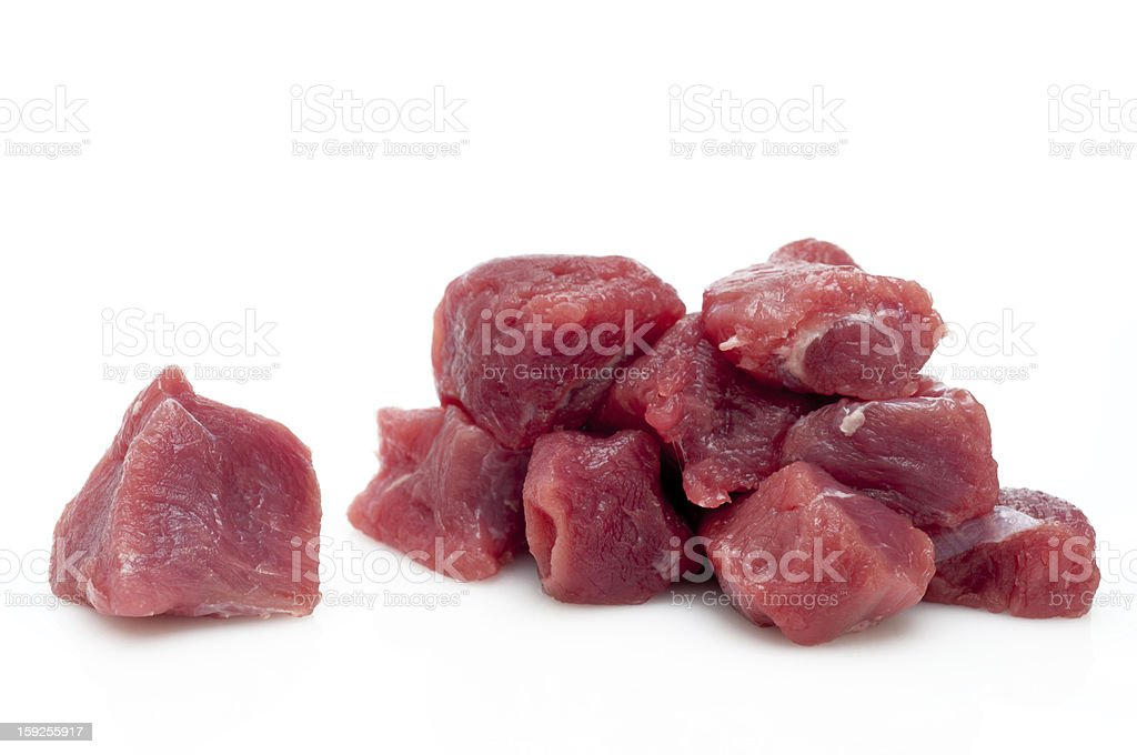 Prepared veal royalty-free stock photo