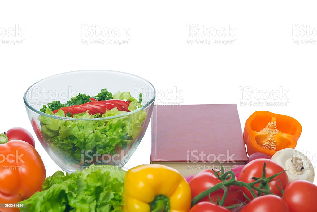 preparing a low-calorie dish prescription Lizenzfreies stock-foto