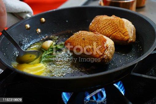Chicken Meat, Chicken - Bird, Cooking Pan, Meat, Kitchen