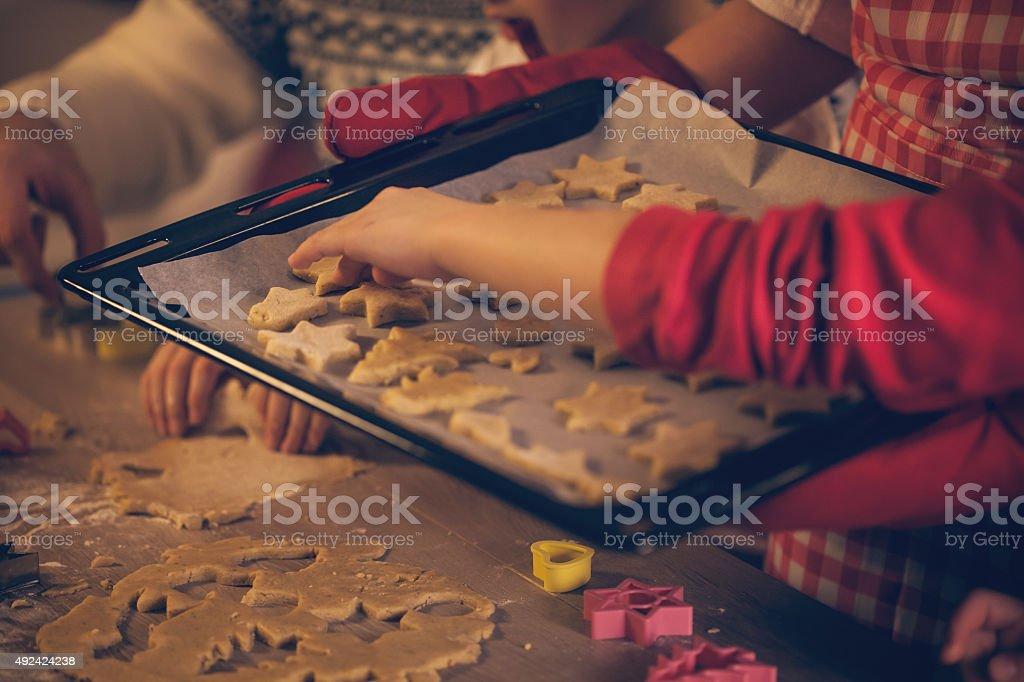 Vorbereitung für Backen Kekse – Foto