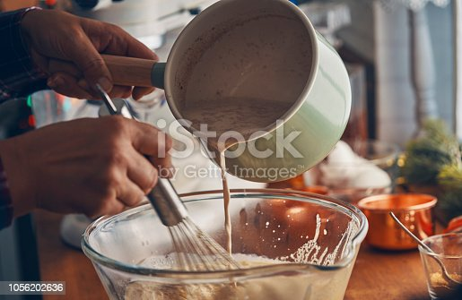 Preparing Eggnog for Christmas