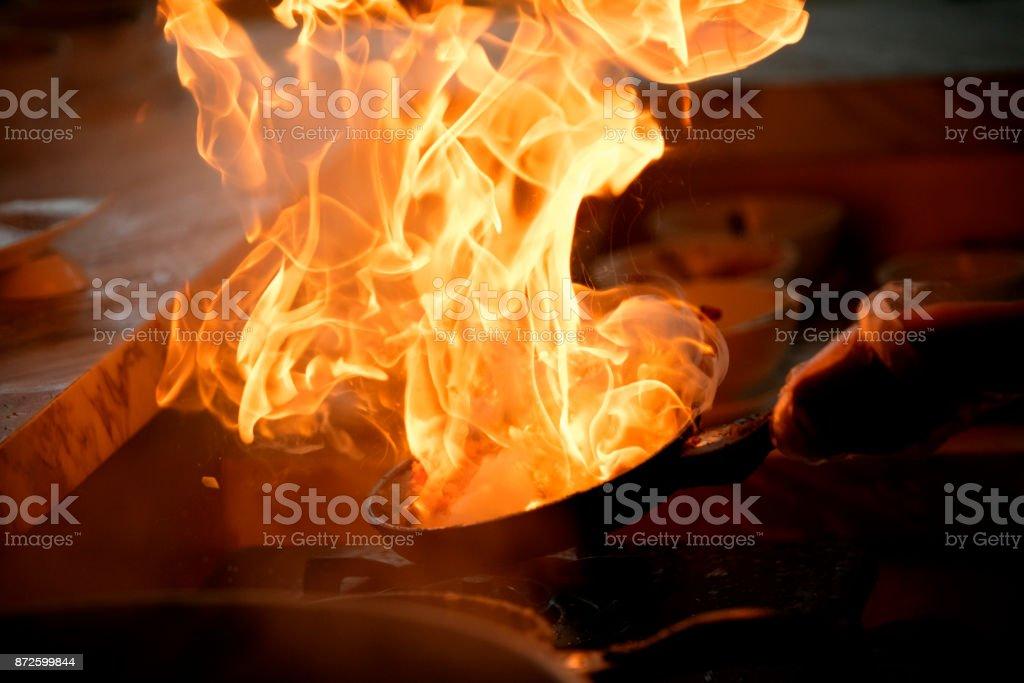 Flamme Gericht – Foto