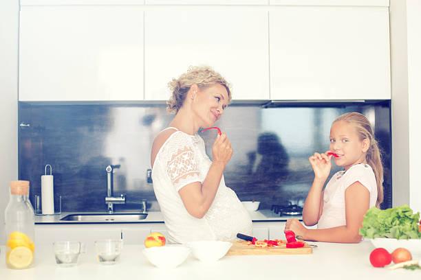 preparing food - tamara dragovic stock photos and pictures
