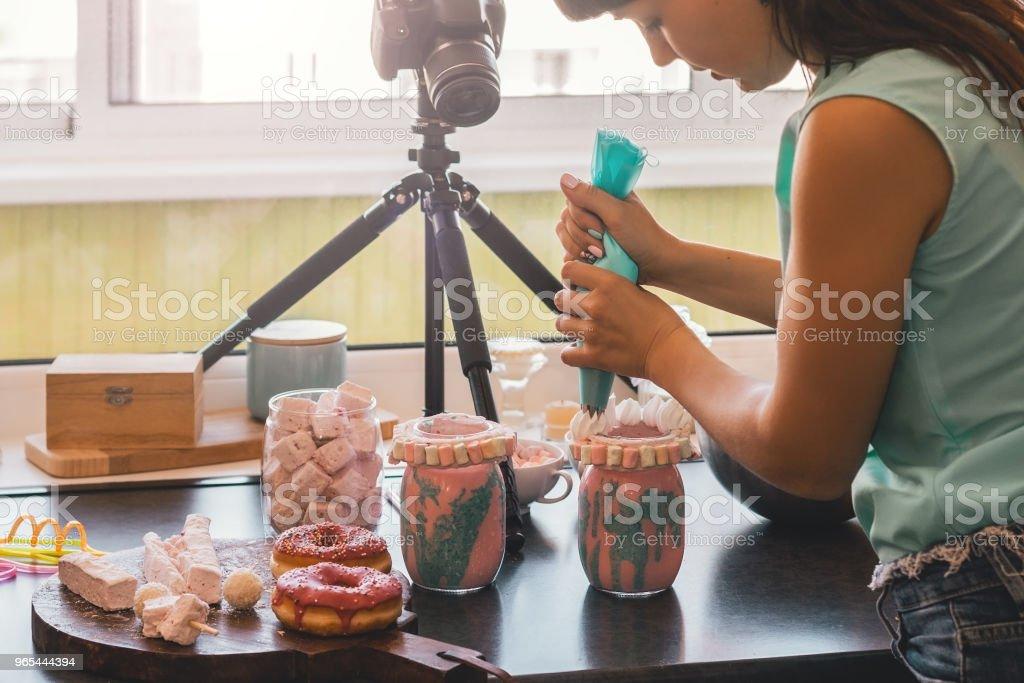 Preparing food. royalty-free stock photo