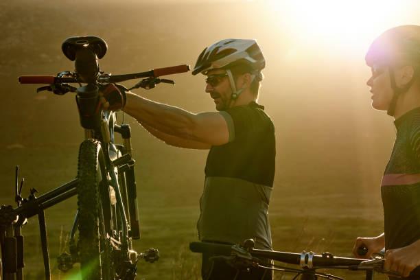 Vorbereitung auf eine epische Radtour – Foto