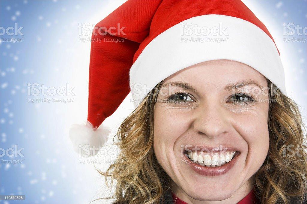 Preparing for Christmas stock photo