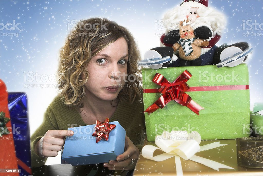 Preparing for Christmas royalty-free stock photo