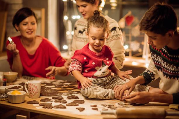 vorbereitung für weihnachten - 3 zutaten kuchen stock-fotos und bilder