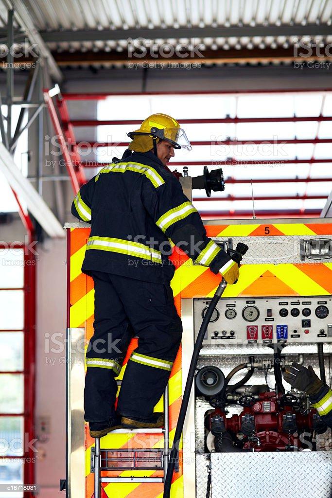 Preparación de emergencia - foto de stock