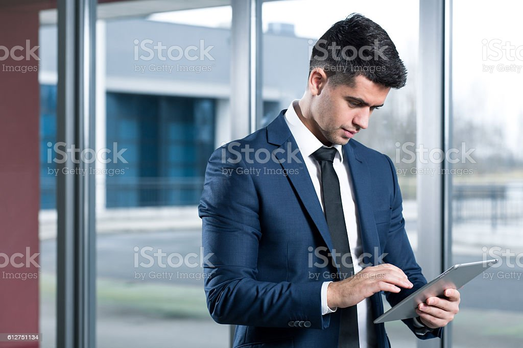 Preparing for the next negotiations stock photo