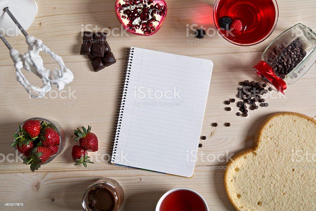 Vorbereitung für Valentinstag-Kuchen – Foto
