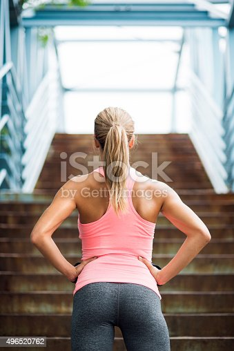 istock Preparing for workout 496520762