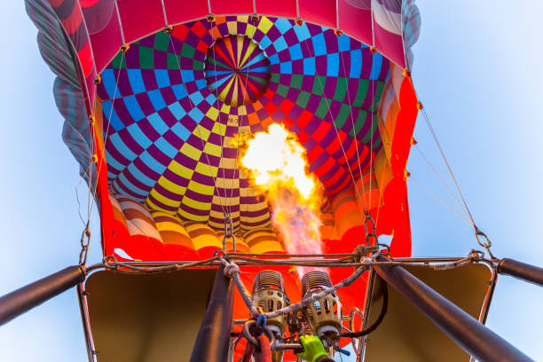Cтоковое фото Preparing hot air balloon to flying over the valley at Cappadocia,Anatolia,Turkey.Cappadocia is great tourist attraction place to fly with hot air balloons.NEVSEHIR/TURKEY- JULY 23,2016