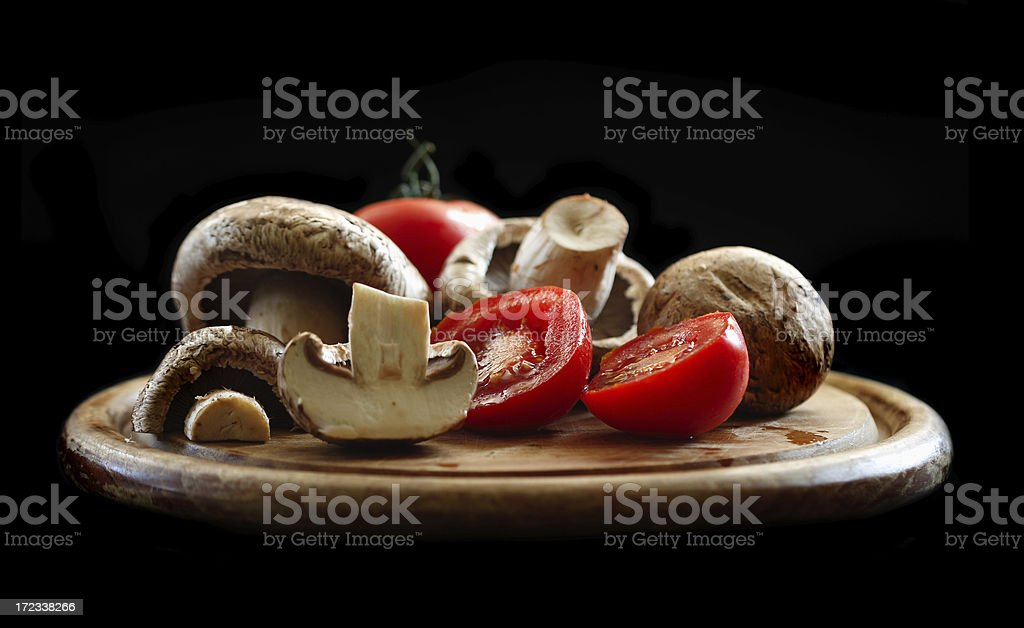 Preparing Pizza royalty-free stock photo