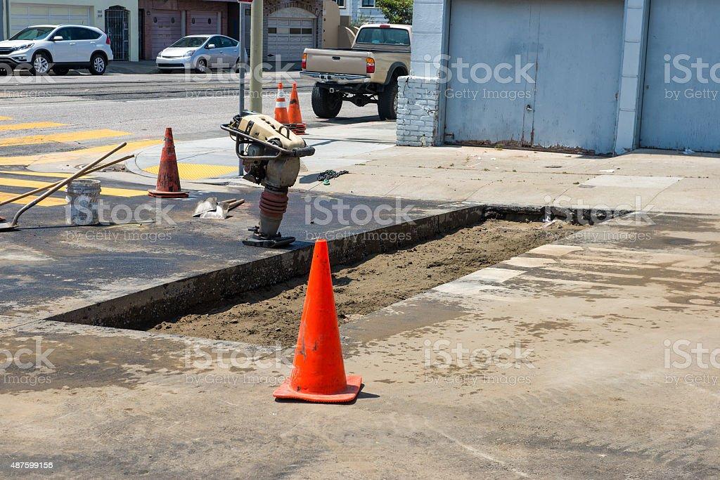 Preparing Street
