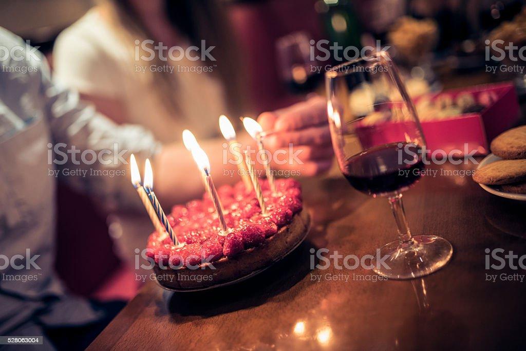 Préparation du gâteau - Photo