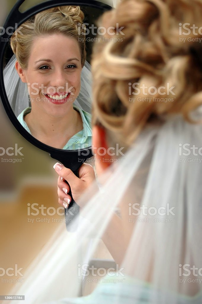 Preparing to be a Bride royalty-free stock photo