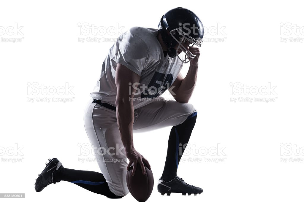 Preparing to big game. stock photo