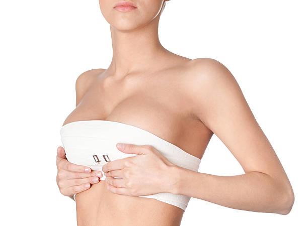 Preparar la corrección de mama - foto de stock