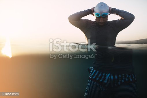 610548820 istock photo Preparing to dive in 610551228