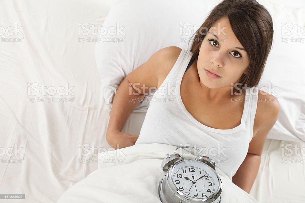 Preparing to sleep royalty-free stock photo
